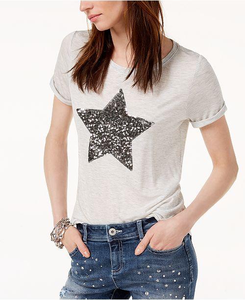5cfbe80778832 ... INC International Concepts I.N.C. Embellished Star T-Shirt