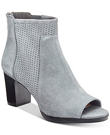 Bella Vita Luna Peep-Toe Booties