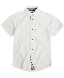 Levi's® Big Boys Woven Cotton Shirt