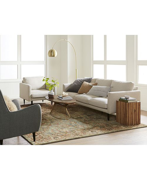Furniture Lodie Fabric Sofa Collection & Reviews