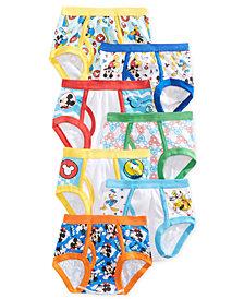 Disney's® Mickey Mouse 7-Pk. Cotton Briefs, Toddler Boys