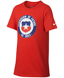 Nike Big Boys Chile World Cup Graphic-Print Cotton T-Shirt