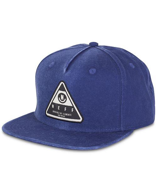 Neff Men's Logo Patch X Wash Cap