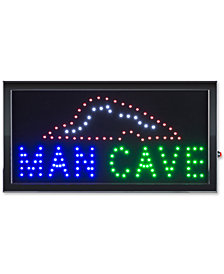 Man Cave Lighted Neon Electric Display Sign with Animation & Energy Efficient LED