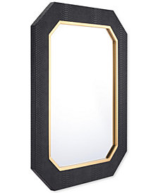 Zuo Asti Black-Framed Mirror