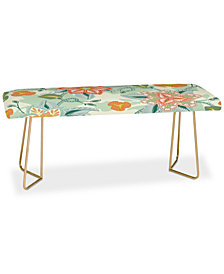 Deny Designs Sabine Reinhart I Will Bring You Flowers Bench