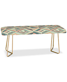 Deny Designs Jacqueline Maldonado Hybrid Holistic Bench