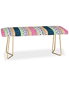 Deny Designs Schatzi Brown Aviana Boho Stripe Bench
