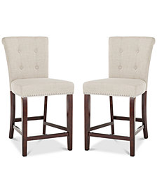 Oston Counter Stool (Set Of 2), Quick Ship