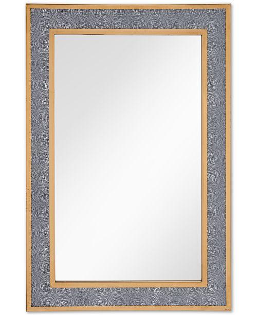 Zuo Pavia Gray-Framed Mirror - Mirrors - Macy\'s
