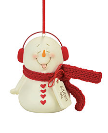 Department 56 Snowpinions Be Happy Ornament