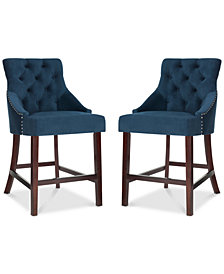 Folino Counter Stool (Set Of 2), Quick Ship