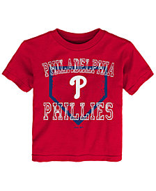Outerstuff Philadelphia Phillies Fan Base T-Shirt, Toddler Boys (2T-4T)