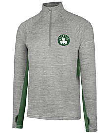 '47 Brand Men's Boston Celtics Evolve Forward Quarter-Zip Pullover