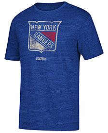 CCM Men's New York Rangers Bigger Logo T-Shirt