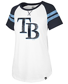 '47 Brand Women's Tampa Bay Rays Flyout T-Shirt