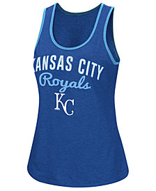 G-III Sports Women's Kansas City Royals Power Punch Glitter Tank