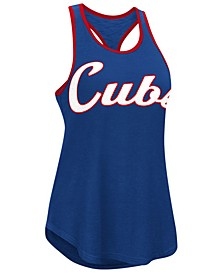 Women's Chicago Cubs Oversize Logo Tank