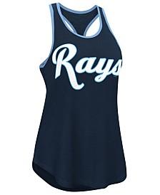 G-III Sports Women's Tampa Bay Rays Oversize Logo Tank