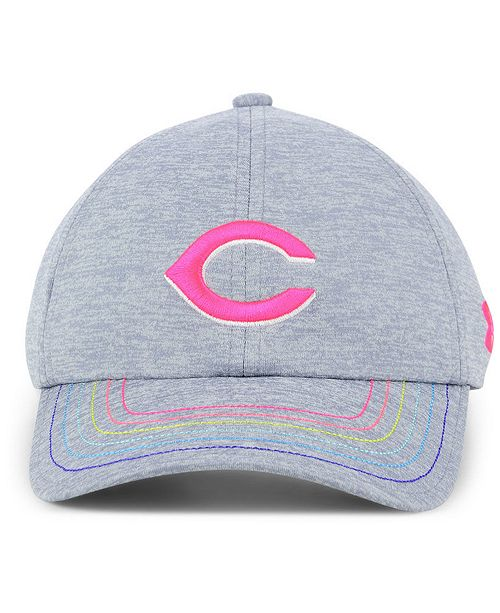 196708bfc63 Under Armour Girls  Cincinnati Reds Renegade Twist Cap - Sports Fan ...