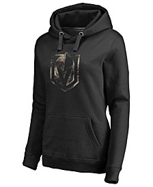 Majestic Women's Vegas Golden Knights Distressed Cozy Hoodie