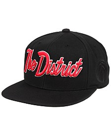 Mitchell & Ness Washington Wizards Town Snapback Cap