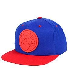 Mitchell & Ness Philadelphia 76ers Rubber Weld Snapback Cap