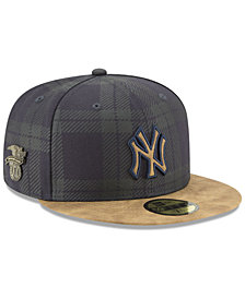 New Era New York Yankees Plaid 59FIFTY Fitted Cap