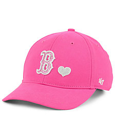 '47 Brand Girls' Boston Red Sox Sugar Sweet MVP Cap