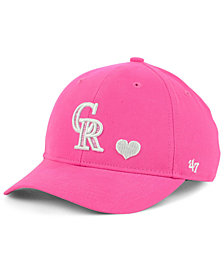'47 Brand Girls' Colorado Rockies Sugar Sweet MVP Cap
