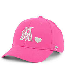 '47 Brand Girls' Miami Marlins Sugar Sweet MVP Cap
