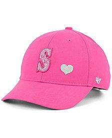 '47 Brand Girls' Seattle Mariners Sugar Sweet MVP Cap
