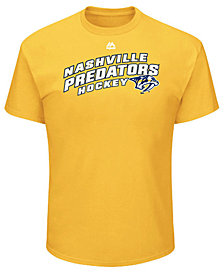 Majestic Men's Nashville Predators Appeal Play T-Shirt