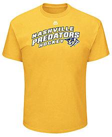 Majestic Men's Nashville Predators Appeal Play T-Shirt
