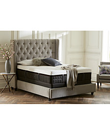 Stearns & Foster Lux Estate Hybrid Wickliffe  Luxury Plush Mattress Set- Queen Split