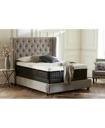 Stearns & Foster Lux Estate Hybrid Wickliffe Luxury Plush Mattress Set- Queen Split