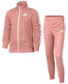 Nike 2-Pc. Zip-Up Track Jacket & Pants Set, Big Girls