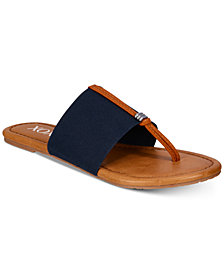 XOXO Ganelo Thong Flat Sandals