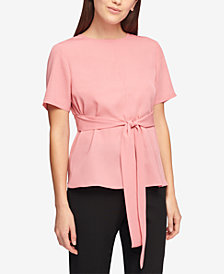 DKNY Tie-Waist Top, Created for Macy's