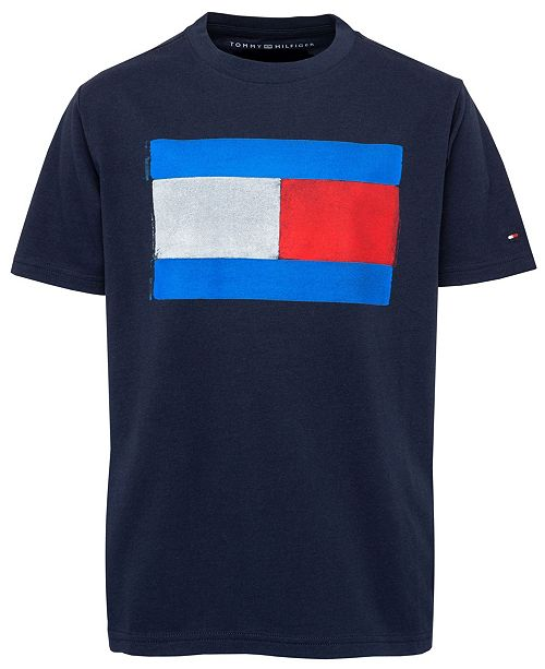 Tommy Hilfiger Toddler Boys Tommy Flag Graphic-Print T-Shirt