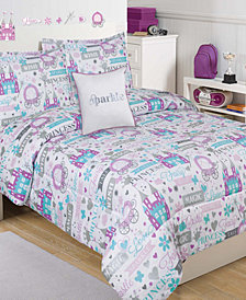 Sparkle Princess 3-Pc. Twin Comforter Set