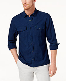 Tommy Hilfiger Men's Sean Seersucker Shirt, Created for Macy's