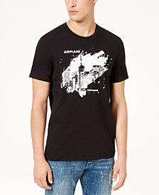 A|X Armani Exchange Men's Paint Blot Logo T-Shirt
