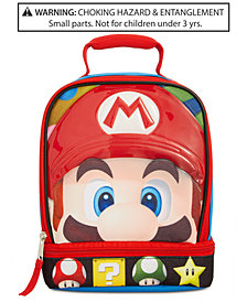 Mario Bros. Little & Big Boys Mario Insulated Lunch Bag