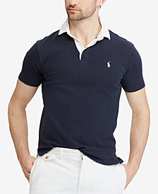 Polo Ralph Lauren Men's Custom Slim Fit Rugby Shirt