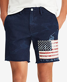 "Polo Ralph Lauren Men's Straight-Fit 8"" Shorts"
