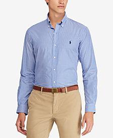 Polo Ralph Lauren Men's Classic-Fit Striped Cotton Shirt