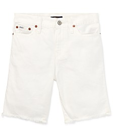 Polo Ralph Lauren Cotton Denim Cutoff Shorts, Toddler Boys