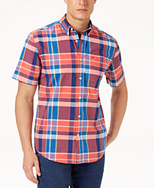 Tommy Hilfiger Men's Payne Plaid Shirt, Created for Macy's