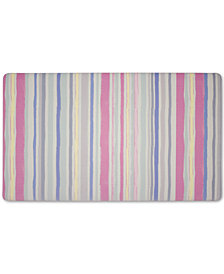 "Laura Ashley Lollies Washed Stripe Anti-Fatigue Gelness 20"" x 32"" Kitchen Mat"